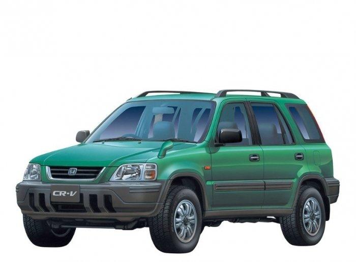 Автомобильные коврики Honda CR-V I (АКПП) правый руль (1997 - 2001)