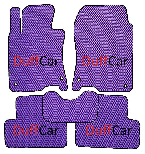 Автомобильные коврики Honda Accord VIII (CU) (2008 - 2013)