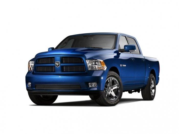 Автомобильные коврики Dodge RAM IV (2008 - 2018)
