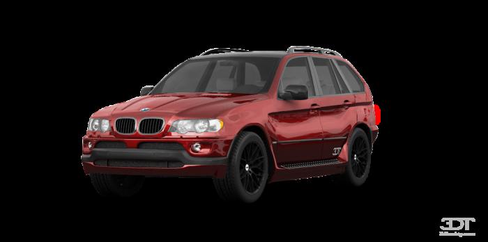 Автомобильные коврики BMW X5 I (E53) (1999 - 2006)