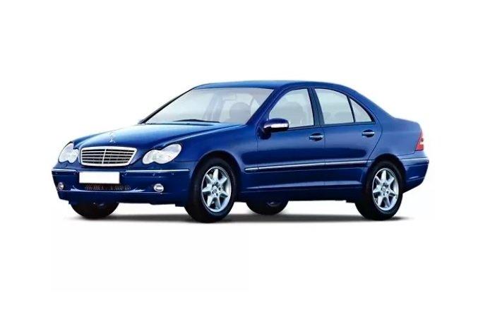 Автомобильные коврики Mercedes-Benz C-Class II (W203) (2000 - 2008)
