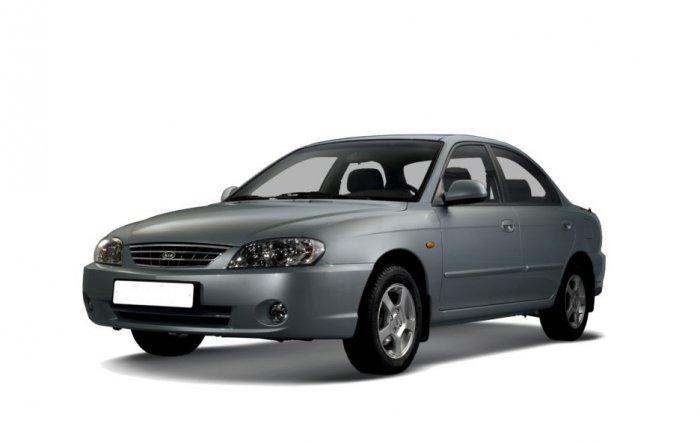 Автомобильные коврики Kia Spectra I (2000 - 2011)