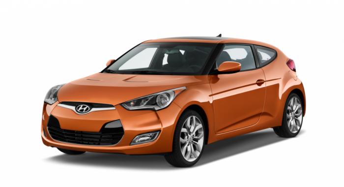 Автомобильные коврики Hyundai Veloster I (FS) (2011 - 2015)