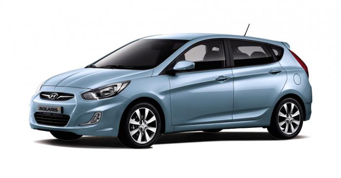 Автомобильные коврики Hyundai Solaris I (RBr) Хэтчбек (2011 - 2017)