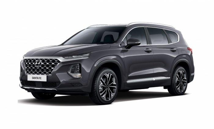 Автомобильные коврики Hyundai Santa Fe IV (TM) 5 мест (2018 - ...)