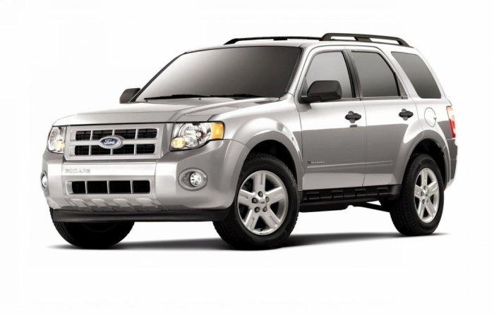 Автомобильные коврики Ford Escape II (2007 - 2012)