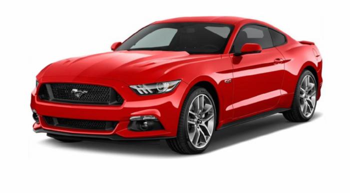 Автомобильные коврики Ford Mustang VI (S550) (2015 - ...) Два передних коврика