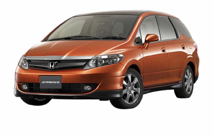 Автомобильные коврики Honda Airwave I (GJ) Правый руль (2005 - 2010)