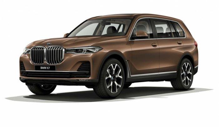 Автомобильные коврики BMW X7 I (G07) (2018 - ...)