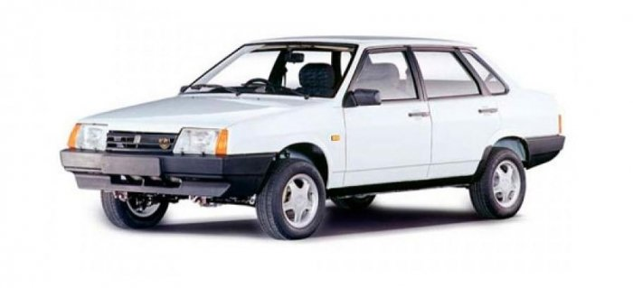 Автомобильные коврики LADA (ВАЗ) 21099 (1990 - 2004)