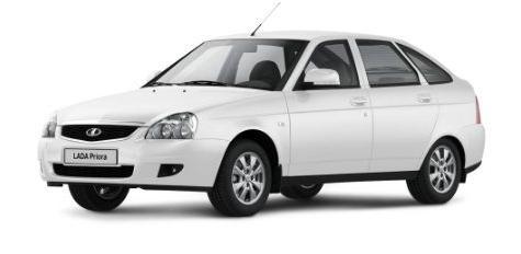 Автомобильные коврики LADA (ВАЗ) Priora Хэтчбек (2008 -2015)