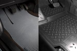 Что прослужит дольше: коврики из EVA или резиновые коврики?