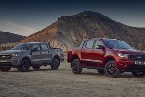 Пикапы Ford Ranger Stormtrak и Wolftrak предложили Европе