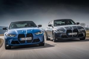 Более быстрые и полноприводные: BMW M3 и M4 выйдут на рынок в июле