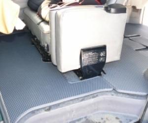 Автомобильные коврики Mitsubishi Delica Правый руль (1994 - 2007)