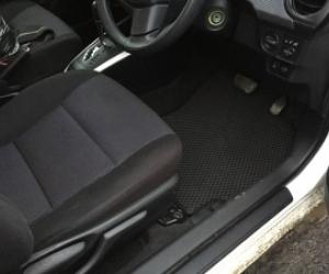 Автомобильные коврики Toyota Corolla Fielder X (NZE141) Правый руль (2006 - 2013)