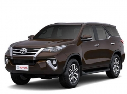 Toyota Fortuner II (AN150, AN160) 7 мест (2015 - ...)