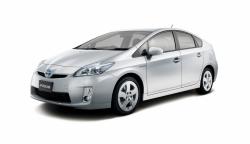 Toyota Prius III (ZVW30) Левый руль (2009 - 2011) Дорестайлинг