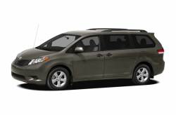 Toyota Sienna III (XL30) 7 мест (2010 - ...) Два передних коврика