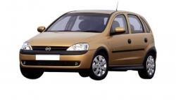 Opel Corsa C (X01) (2000 - 2006)